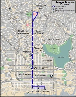 Proposed Streetcar Route