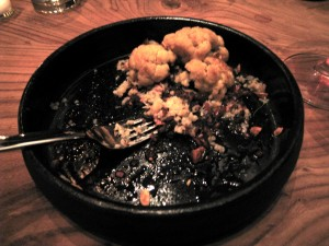 Braised Cauliflower at Plum