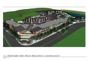 Proposed Pleasant Valley Safety rendering