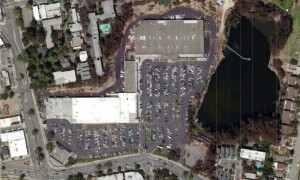 Pleasant Valley Safeway Current Aerial View