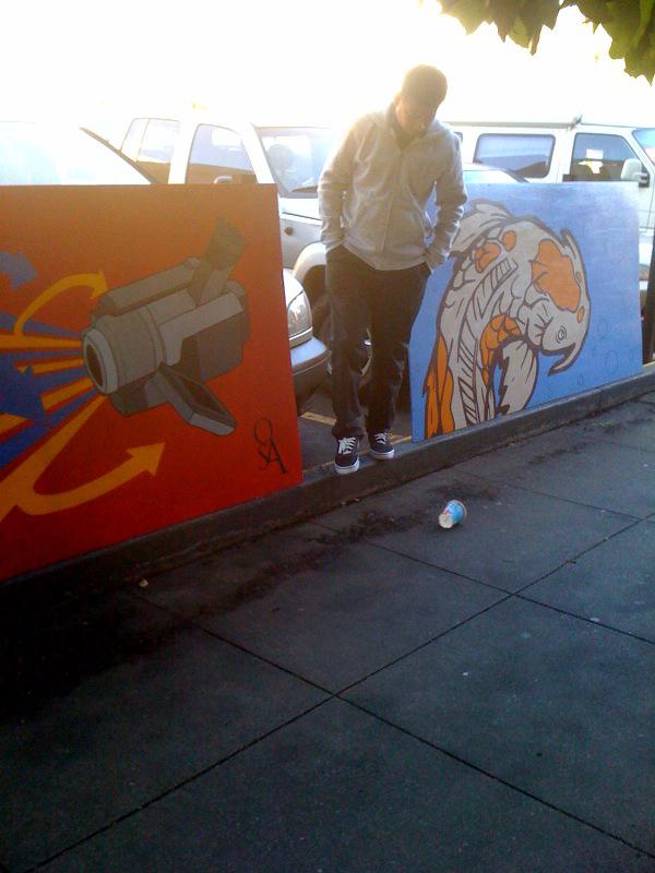Art at 1333 Harrison
