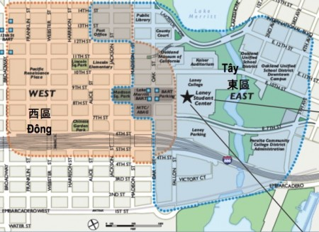 Lake Merritt Station Area Plan map