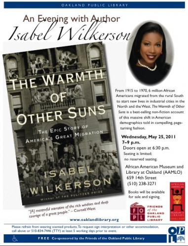 Isabel Wilkerson at AAMLO