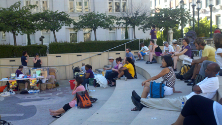 14 Hours, 14 Branches: A Read-In to Save Oakland Libraries